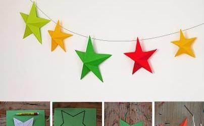 De l'origami pour les décos de Noël !