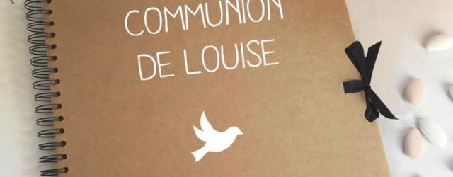 Communion : idées déco