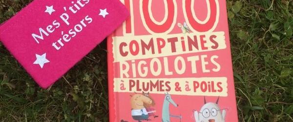 100 comptines rigolottes à plumes et à poils {mercredi lecture}