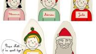 Le Père Noël en marionnette.