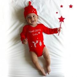 cc001716dcfac La tenue de Bébé pour son premier noël !