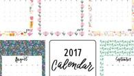 Calendrier 2017 gratuit : le top des free printable ou DIY.