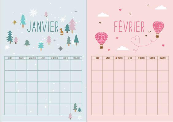 calendrier 2017 gratuit