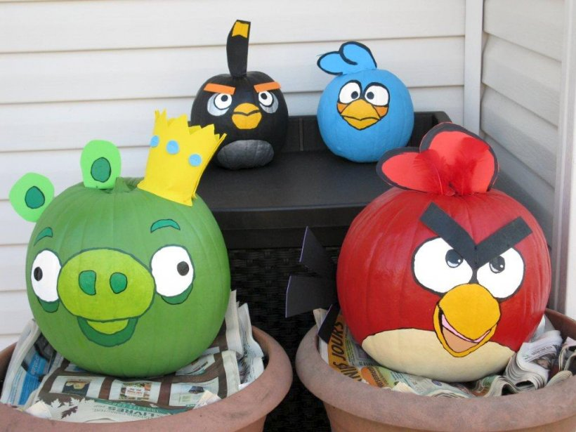 citrouilles angry birds