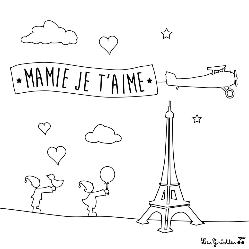 coloriage-mamie-tour-eiffel