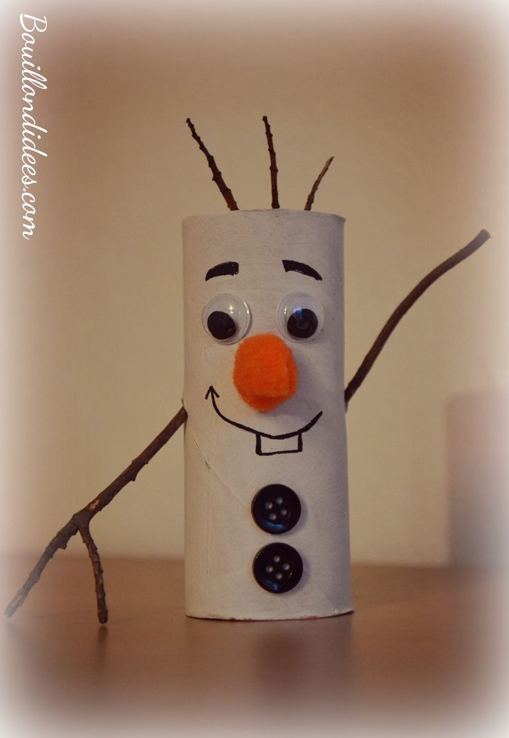 diy noël enfant bonhomme de neige