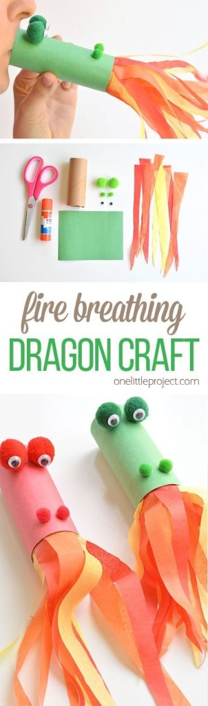 dragon cracheur de feu diy
