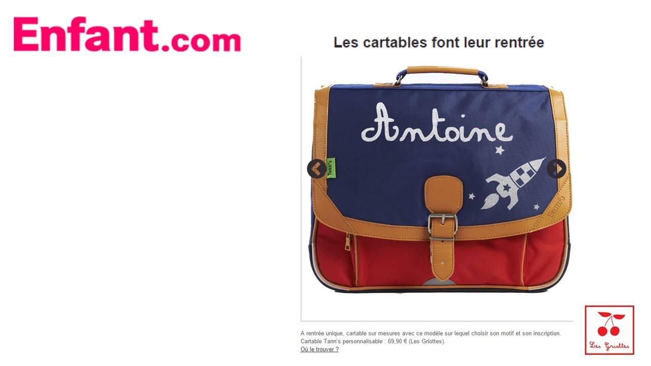 Le sac d'activités Les Griottes.