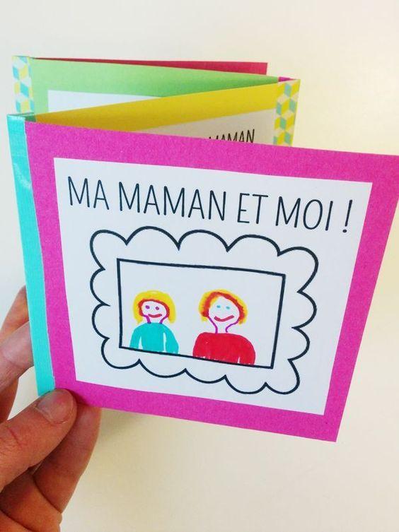 fête des mères carte diy
