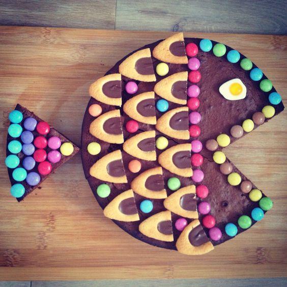 le gâteau poisson d'avril ! | les griottes papotent !