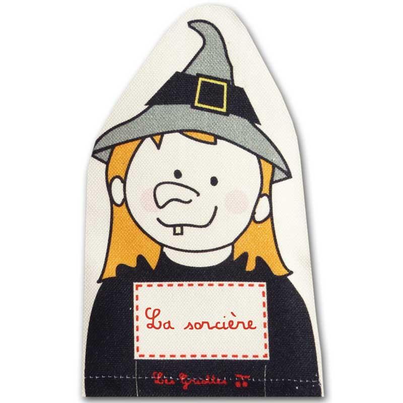 marionnettes personnalisées -la-sorcière