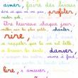 Des phrases positives pour donner le sourire.
